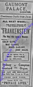 Gaumont advert