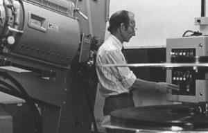 Chief projectionist- Charles Jones
