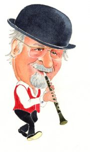 acker-bilk-caricature