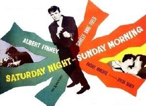 saturday night sunday morning poster
