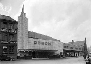 The original ODEON WREXHAM. Brook Street. Opening day 13th March 1937