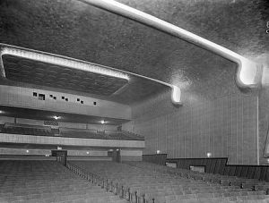 looking towards the projection room ODEON WREXHAM
